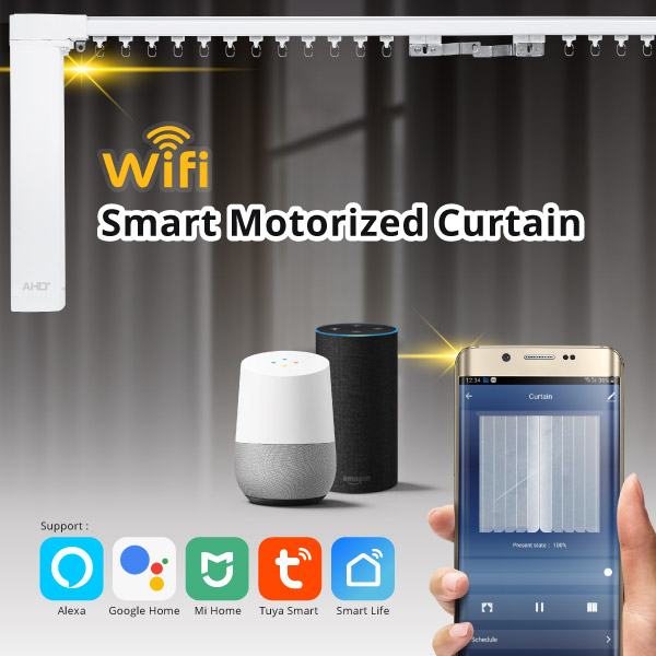 WIFI Smart Motorized Curtain by AHD Malaysia Banner-01