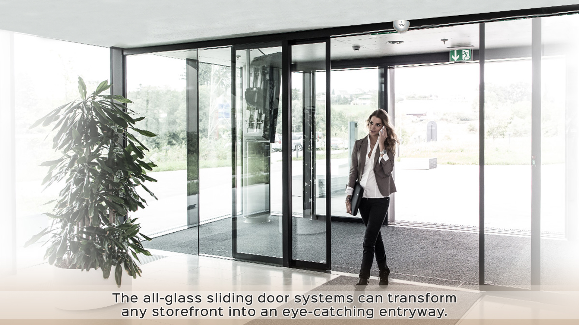 Smart Automatic Sliding Door System - AHD SMART HOME | PENANG
