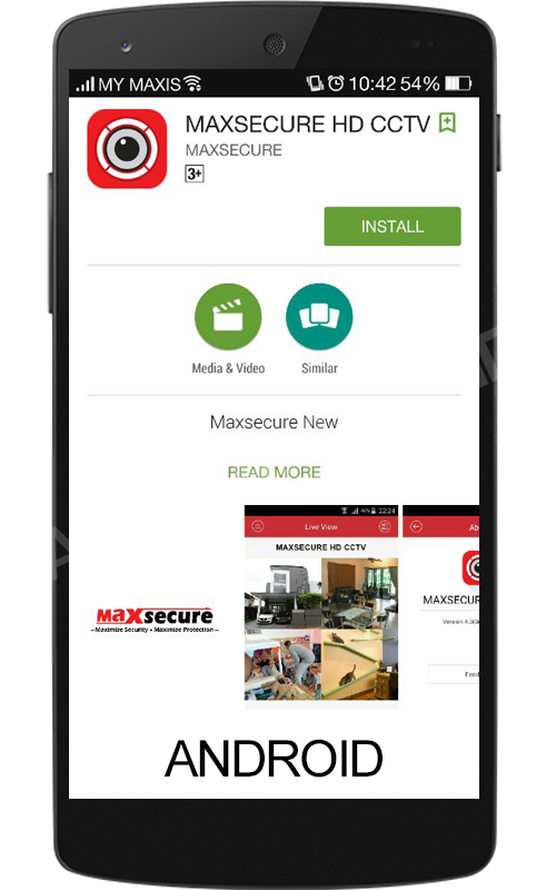 Maxsecure-Mobile Setting Cloud P2P Viewandroid1