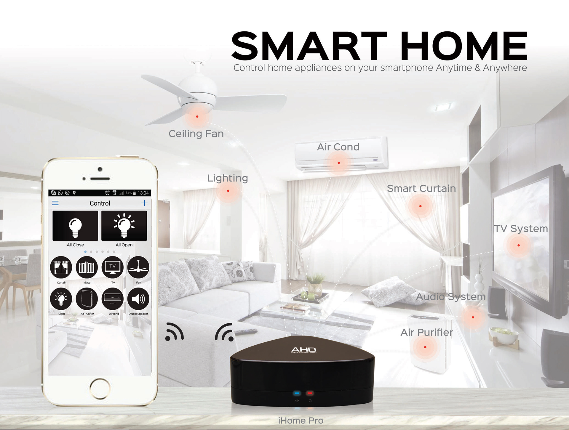 smart home diy page ahd smart home and smart cctv alarm penang malaysia. Black Bedroom Furniture Sets. Home Design Ideas