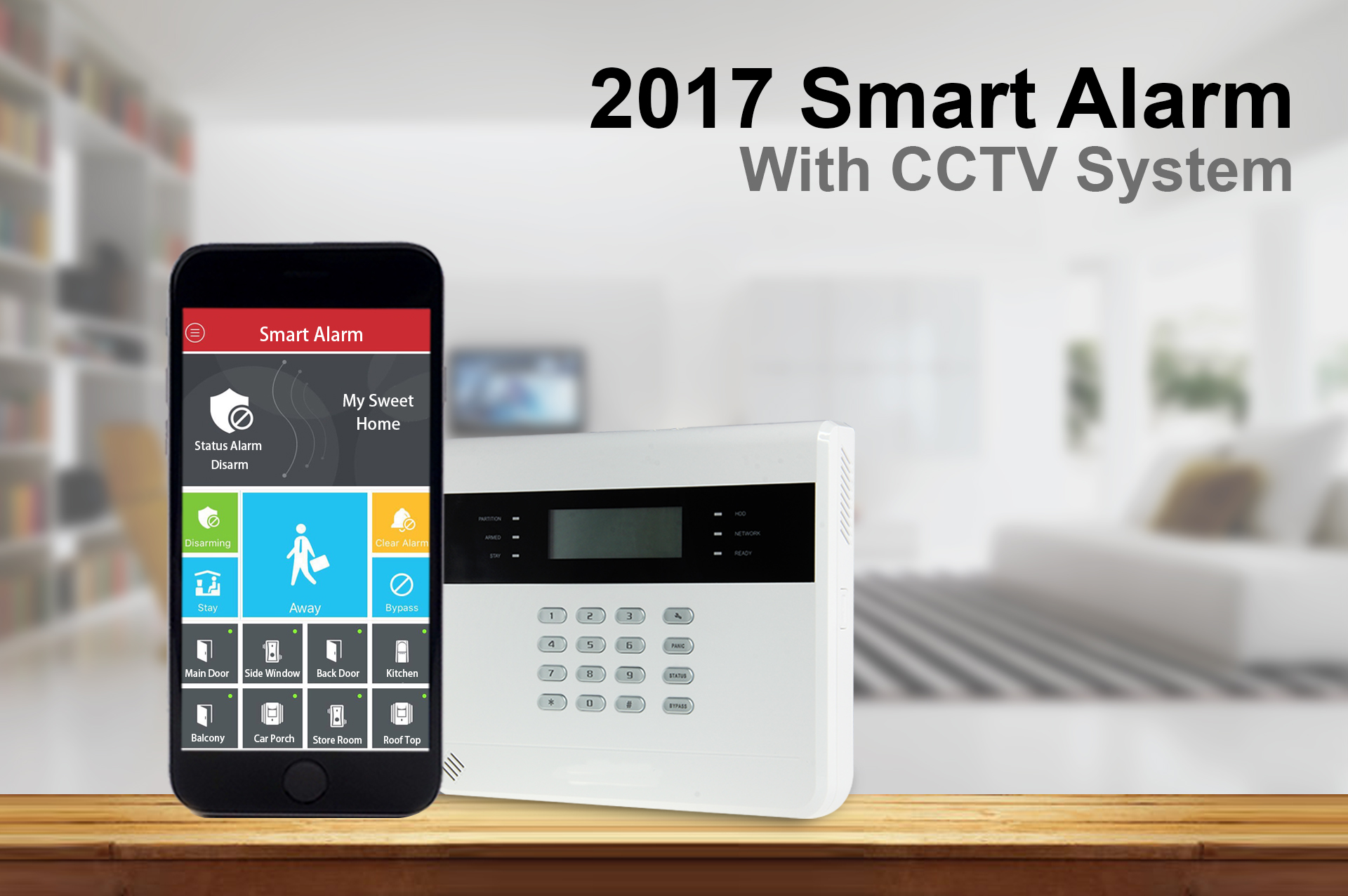 Smart Alarm System For Intelligent Living- Alarm Penang Malaysia 000