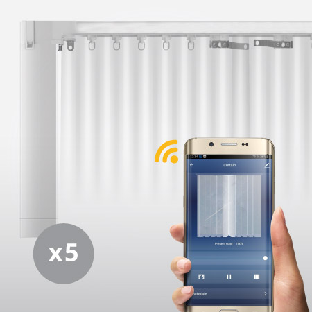 WIFI Smart Motorized Curtain by AHD Malaysia Package 02